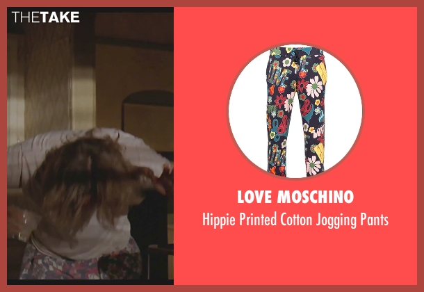 Love Moschino blue pants from The Big Lebowski seen with Jeff Bridges (The Dude)