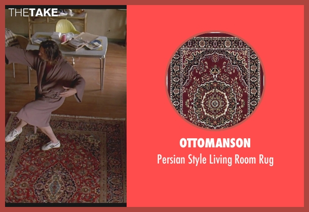 Ottomanson rug from The Big Lebowski seen with Jeff Bridges (The Dude)