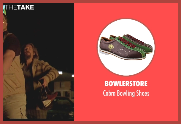 Bowlerstore shoes from The Big Lebowski seen with Jeff Bridges (The Dude)