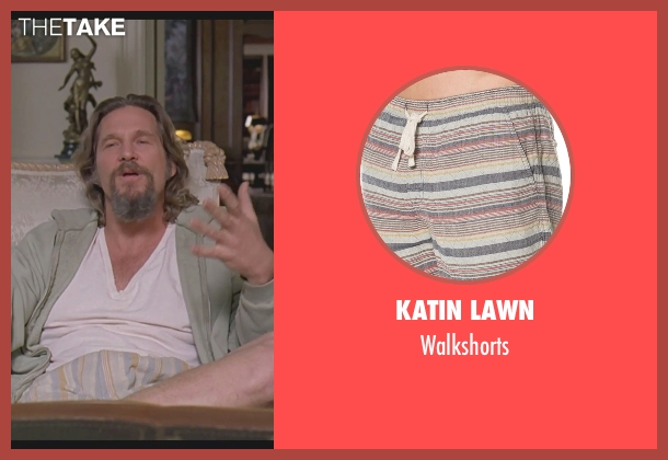 Katin Lawn walkshorts from The Big Lebowski seen with Jeff Bridges (The Dude)
