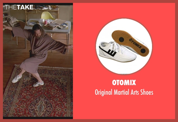 Otomix white shoes from The Big Lebowski seen with Jeff Bridges (The Dude)