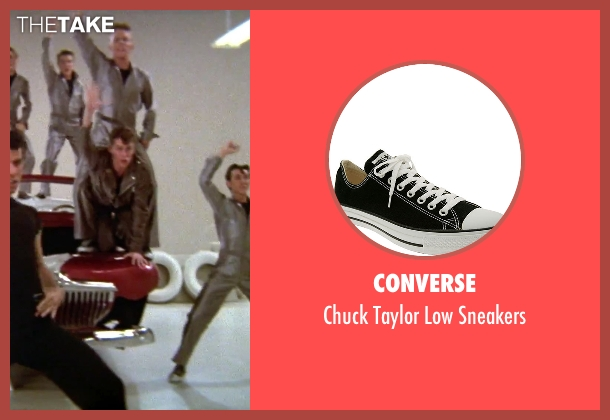 Converse black sneakers from Grease seen with Jeff Conaway (Kenickie)