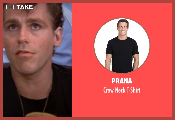 Prana black t-shirt from Grease seen with Jeff Conaway (Kenickie)