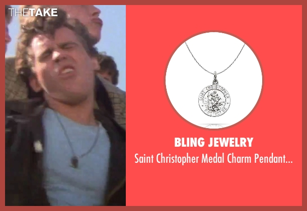 Bling Jewelry silver necklace from Grease seen with Jeff Conaway (Unknown Character)