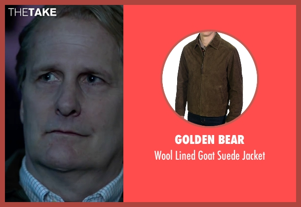 Golden Bear green jacket from Steve Jobs seen with Jeff Daniels (John Sculley)