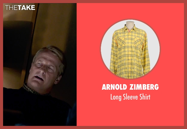 Arnold Zimberg yellow shirt from Steve Jobs seen with Jeff Daniels (John Sculley)