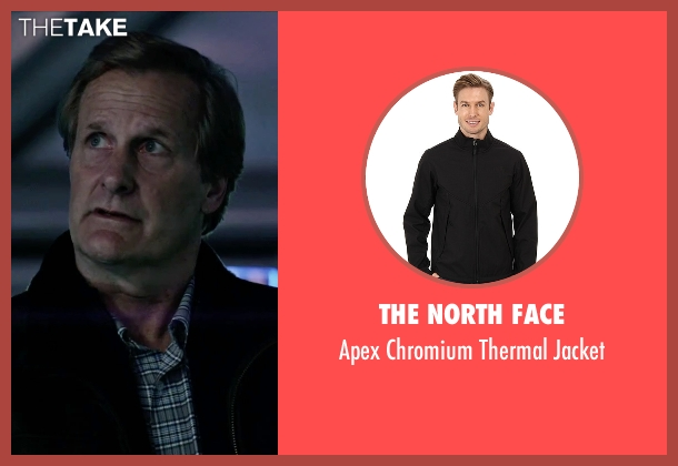 The North Face black jacket from The Martian seen with Jeff Daniels (Teddy Sanders)