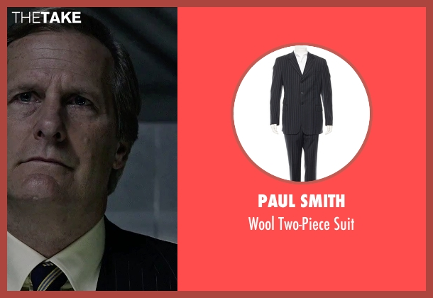 Paul Smith black suit from The Martian seen with Jeff Daniels (Teddy Sanders)