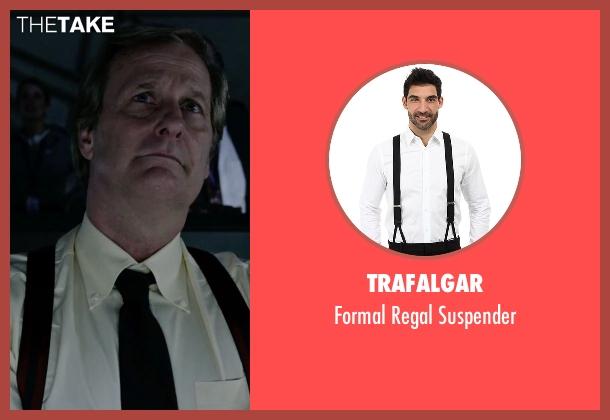 Trafalgar black suspender from The Martian seen with Jeff Daniels (Teddy Sanders)
