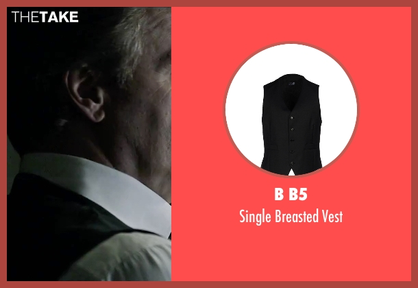 B B5 black vest from The Martian seen with Jeff Daniels (Teddy Sanders)