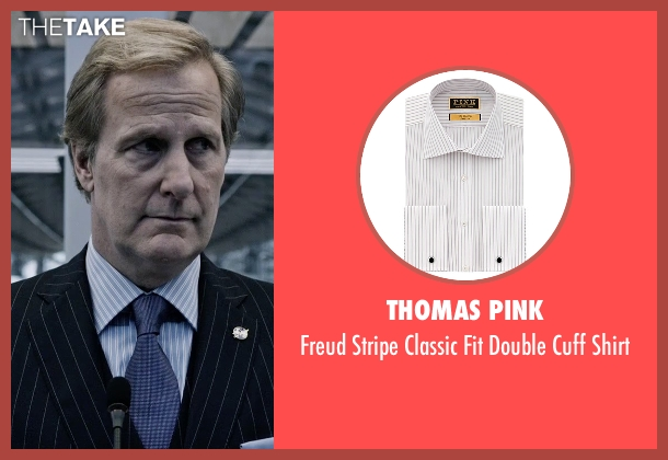 Thomas Pink white shirt from The Martian seen with Jeff Daniels (Teddy Sanders)