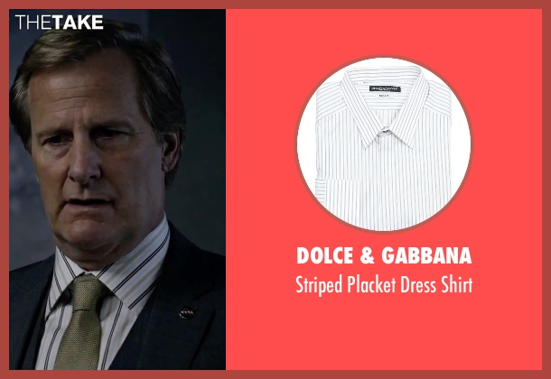 Dolce & Gabbana white shirt from The Martian seen with Jeff Daniels (Teddy Sanders)