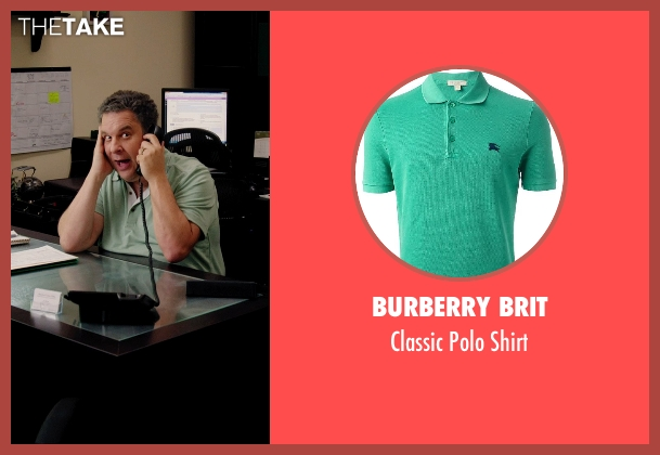 Burberry Brit green shirt from Laggies seen with Jeff Garlin (Unknown Character)