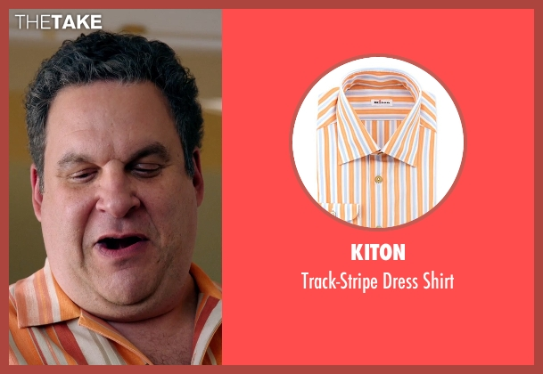 Kiton orange shirt from Laggies seen with Jeff Garlin (Unknown Character)
