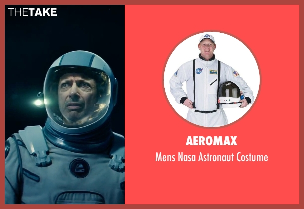 Aeromax white costume from Independence Day: Resurgence seen with Jeff Goldblum (David Levinson)