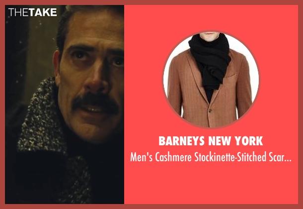 Barneys New York black scarf-black from Batman v Superman: Dawn of Justice seen with Jeffrey Dean Morgan (Thomas Wayne)