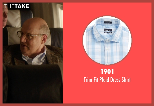 1901 blue shirt from The D Train seen with Jeffrey Tambor (Unknown Character)