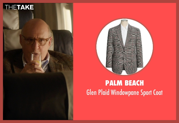 Palm Beach gray coat from The D Train seen with Jeffrey Tambor (Unknown Character)
