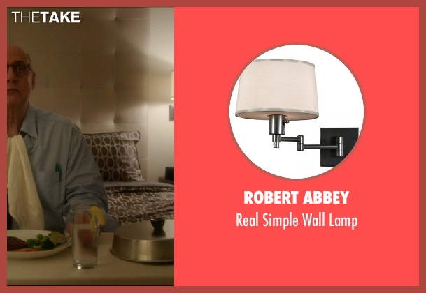 Robert Abbey lamp from The D Train seen with Jeffrey Tambor (Unknown Character)