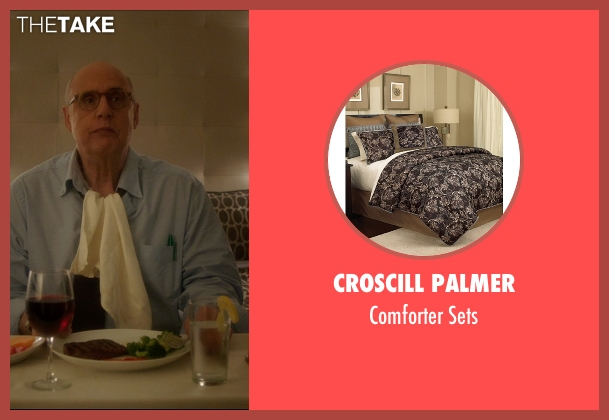 Croscill Palmer sets from The D Train seen with Jeffrey Tambor (Unknown Character)