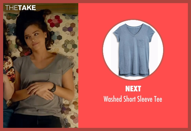 Next blue tee from Me Before You seen with Jenna Coleman (Katrina Clark)