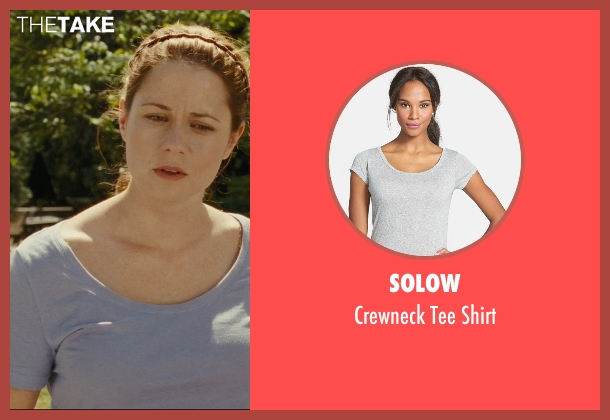 Solow gray shirt from Hall Pass seen with Jenna Fischer (Maggie)