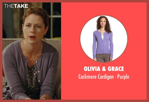 Olivia & Grace purple purple from Hall Pass seen with Jenna Fischer (Maggie)