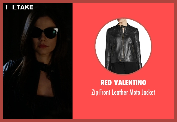 Red Valentino black jacket from Pretty Little Liars seen with Jenna Marshall (Tammin Sursok)