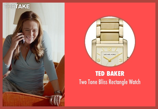 Ted Baker gold watch from Fifty Shades of Grey seen with Jennifer Ehle (Carla May Wilks)