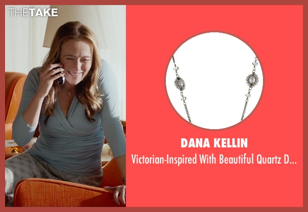 Dana Kellin silver necklace from Fifty Shades of Grey seen with Jennifer Ehle (Carla May Wilks)