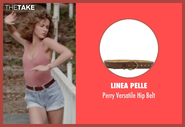 Linea Pelle brown belt from Dirty Dancing seen with Jennifer Grey (Baby Houseman)