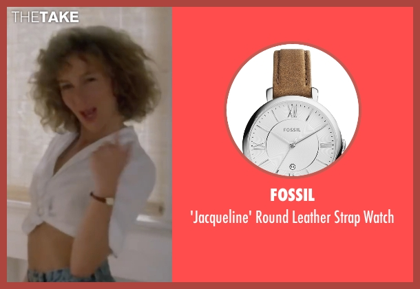 Fossil brown watch from Dirty Dancing seen with Jennifer Grey (Baby Houseman)
