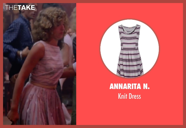 Annarita N. gray dress from Dirty Dancing seen with Jennifer Grey (Baby Houseman)