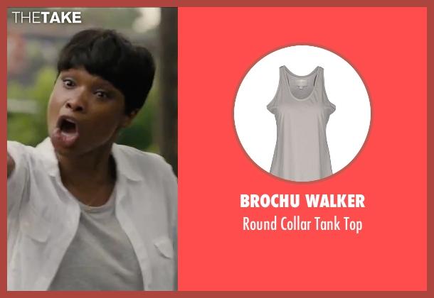 Brochu Walker gray top from Chi-Raq seen with Jennifer Hudson (Irene)