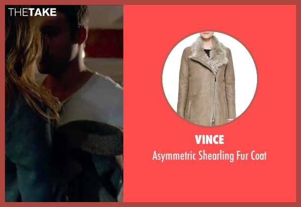 Vince beige coat from The Boy Next Door seen with Jennifer Lopez (Claire Peterson)