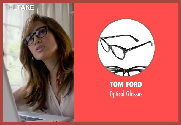Tom Ford black glasses from The Boy Next Door seen with Jennifer Lopez (Claire Peterson)