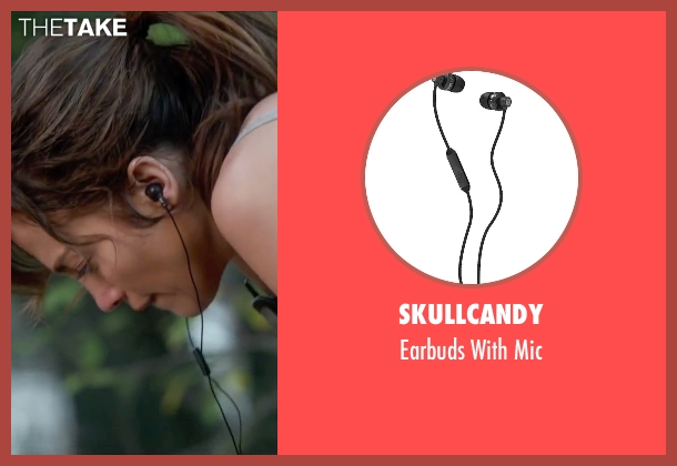 Skullcandy black mic from The Boy Next Door seen with Jennifer Lopez (Claire Peterson)