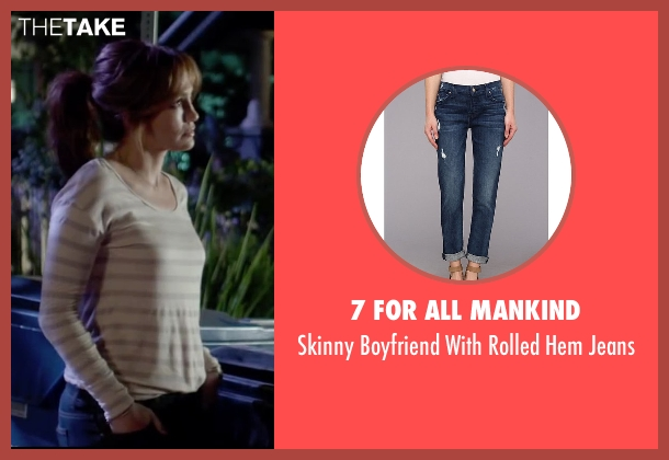 7 For All Mankind blue jeans from The Boy Next Door seen with Jennifer Lopez (Claire Peterson)