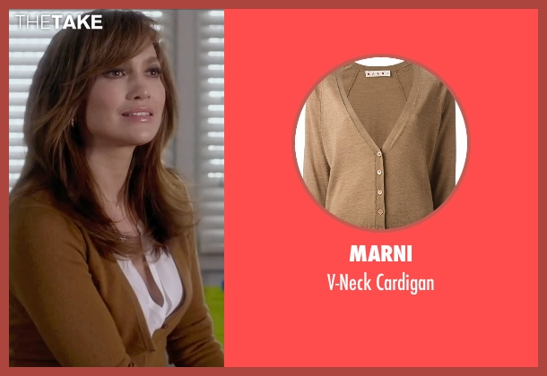 Marni brown cardigan from The Boy Next Door seen with Jennifer Lopez (Claire Peterson)