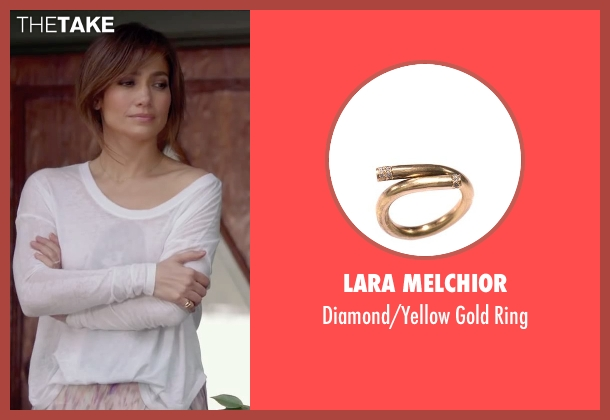 Lara Melchior gold ring from The Boy Next Door seen with Jennifer Lopez (Claire Peterson)