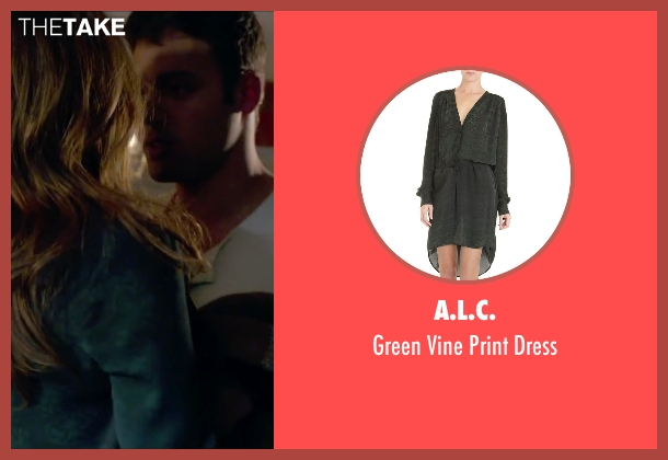 A.L.C. green dress from The Boy Next Door seen with Jennifer Lopez (Claire Peterson)