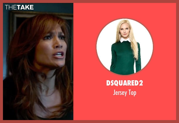 Dsquared2 green top from The Boy Next Door seen with Jennifer Lopez (Claire Peterson)