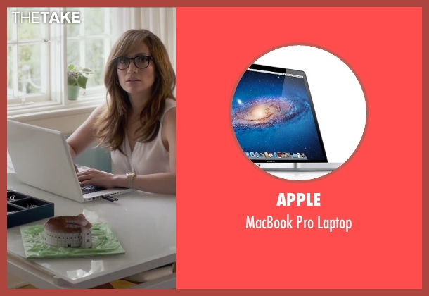 Apple laptop from The Boy Next Door seen with Jennifer Lopez (Claire Peterson)