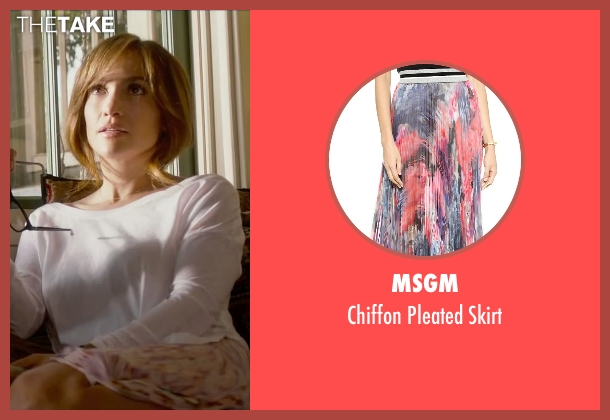 MSGM pink skirt from The Boy Next Door seen with Jennifer Lopez (Claire Peterson)