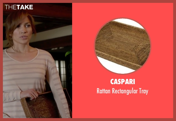 Caspari tray from The Boy Next Door seen with Jennifer Lopez (Claire Peterson)