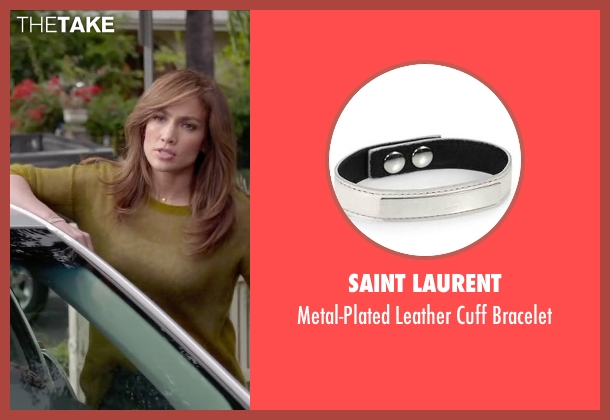 Saint Laurent white bracelet from The Boy Next Door seen with Jennifer Lopez (Claire Peterson)