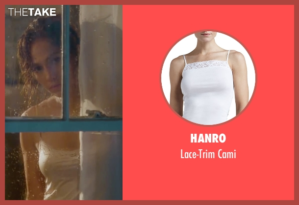 Hanro white cami from The Boy Next Door seen with Jennifer Lopez (Claire Peterson)