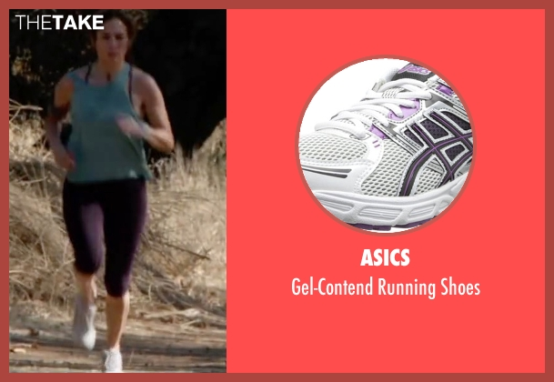 ASICS white shoes from The Boy Next Door seen with Jennifer Lopez (Claire Peterson)