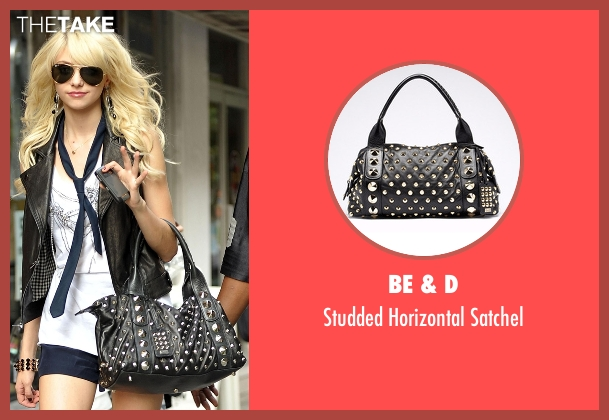 Be & D black satchel from Gossip Girl seen with Jenny Humphrey (Taylor Momsen)
