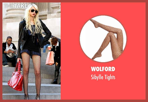 Wolford  black tights from Gossip Girl seen with Jenny Humphrey (Taylor Momsen)